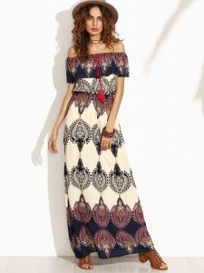 robe maxi sheinside
