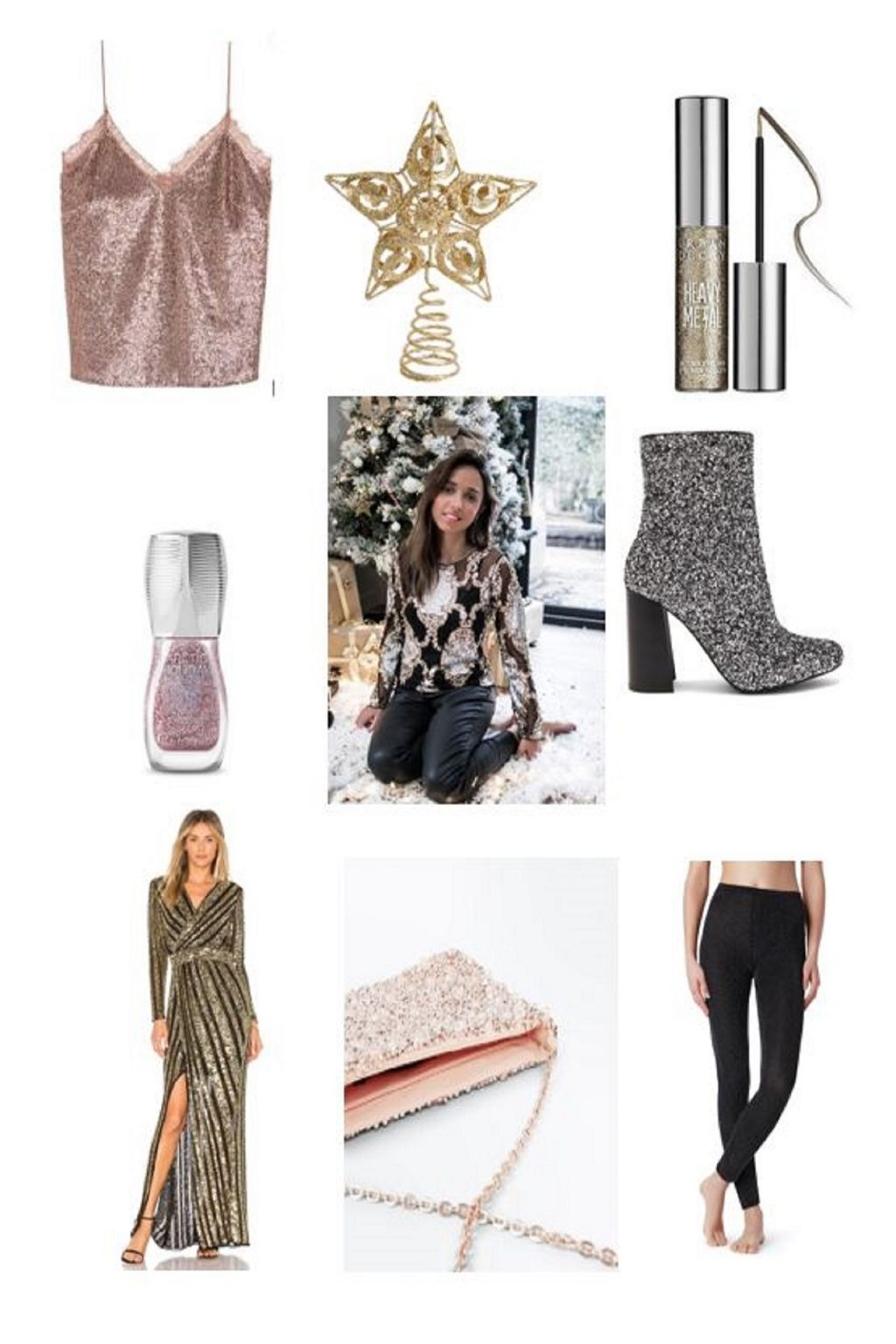 monday crush strass et paillettes